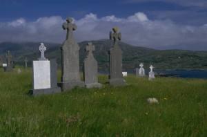 Cemetery Headstones2 Clip Art
