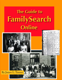 Guide To FamilySearch Online Book Jacket