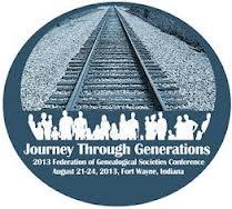 2013 FGS Conference Logo