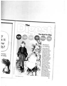 Reader's Digest May 2013 Mystery Picture; How Is The Infant Being Kept Still For The Photograph?