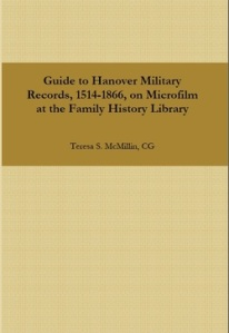 Hanover Military Records Book Cover