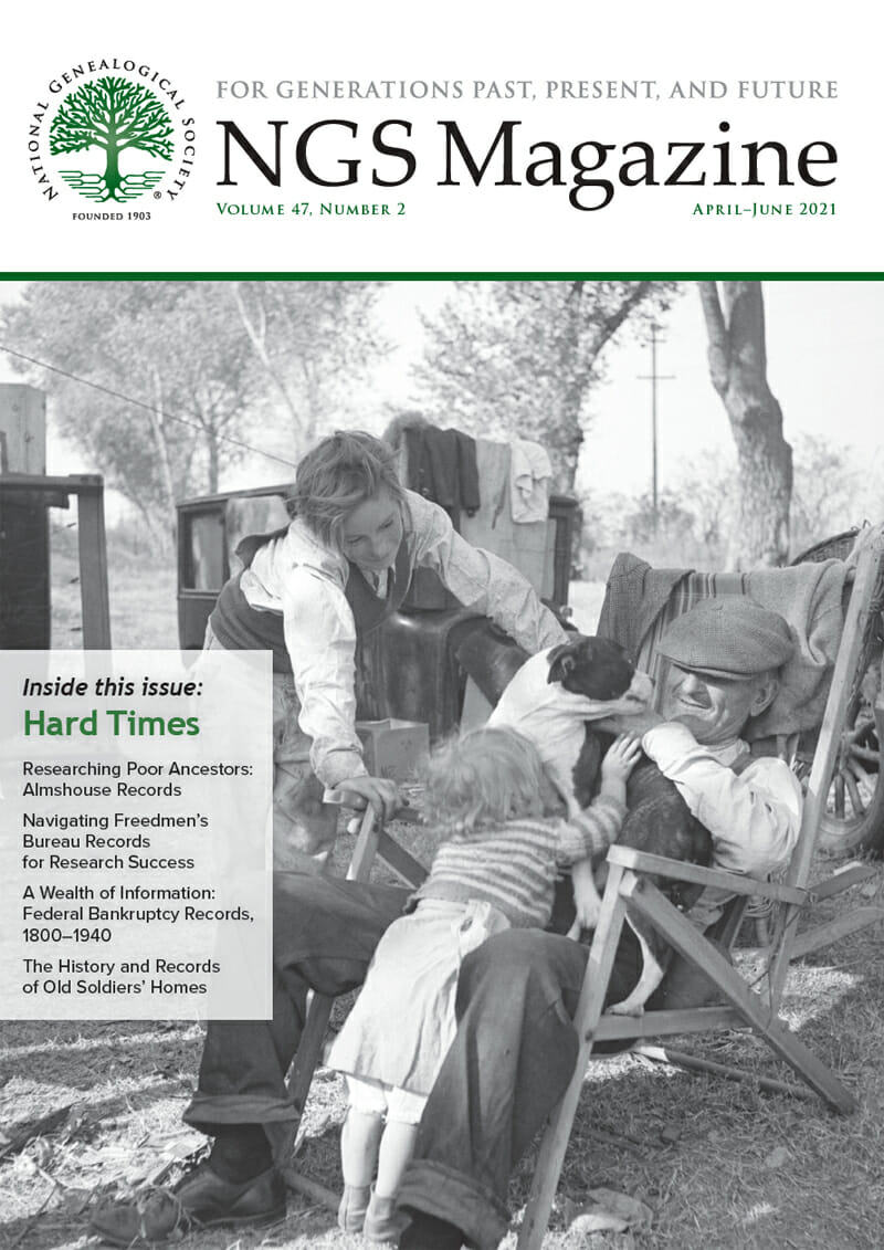 NGS Magazine April-June 2021 Cover