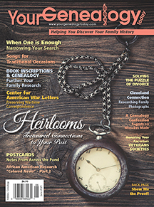 Your Genealogy Today Cover May-June 2021